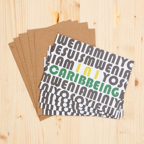 INI CARIBBEING Notecard Set (Set of 5)