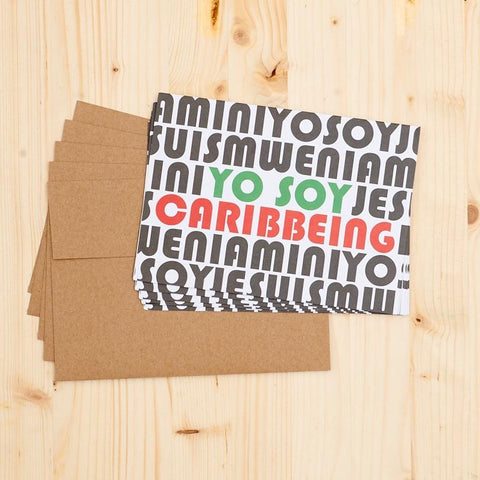 YO SOY CARIBBEING Notecard Set (Set of 5)