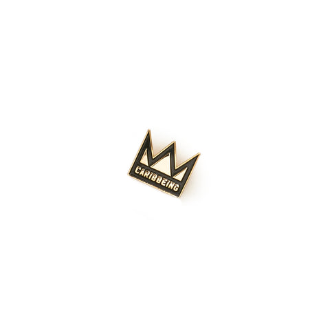 CaribBeing Royalty Enamel Pin