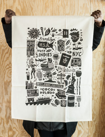 CARIBPOLITAN TEA TOWEL