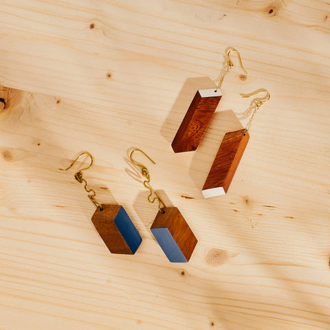 Hunterhue Rhombi Earrings
