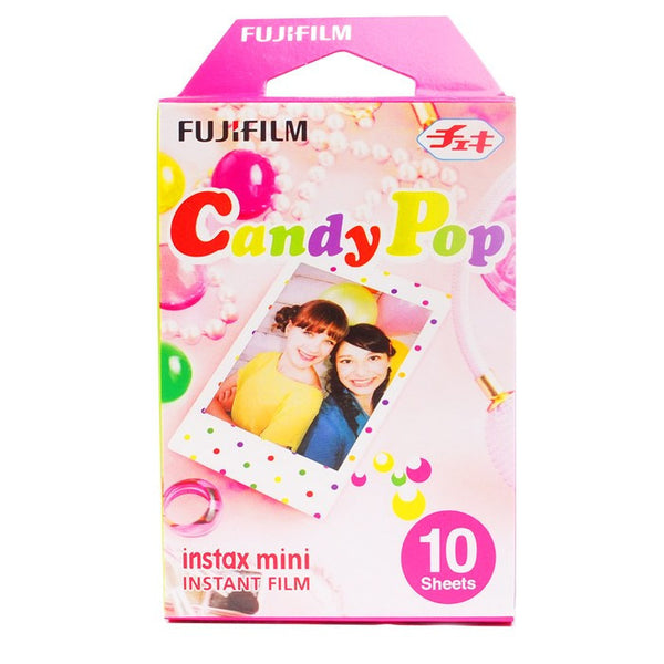 Candy Pop Fujifilm Instax Mini Film Fuji Instant Camera Mini 8 7s 25 50s 90 Polaroid Photo Film Paper
