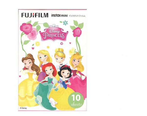 Disney Princess Fujifilm Instax Mini 8 Fuji Photo Paper For Polaroid mini 8 50s 7s 90 25 Share SP-1 Instant instax Camera