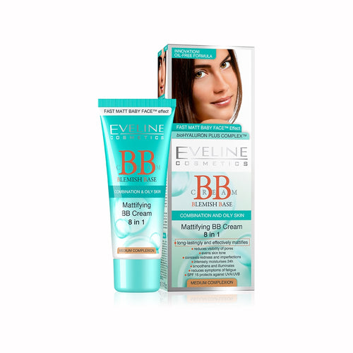 Mattifying BB Cream 8 in 1 -40ml