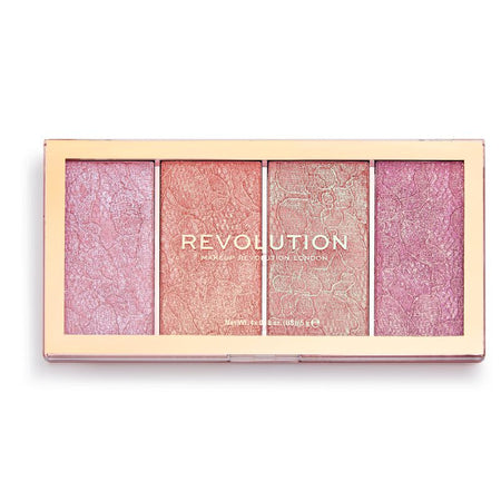 Revolution Precious Stone Brush Set Ruby Crush