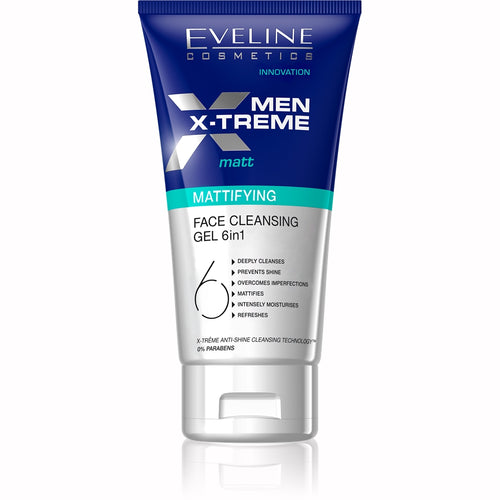 Men X-Treme Matt Face Cleansing Gel