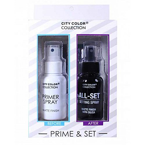 CITY COLOR Collection Primer & Matte Setting Spray Set