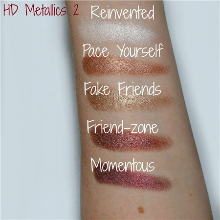 Freedom Makeup ProArtist Eyeshadow Packs  - HD Metallics