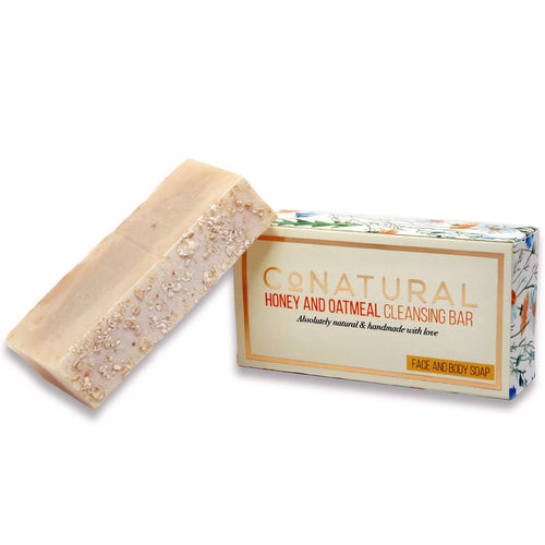 Honey and Oatmeal Cleansing Bar (Organic Soap)