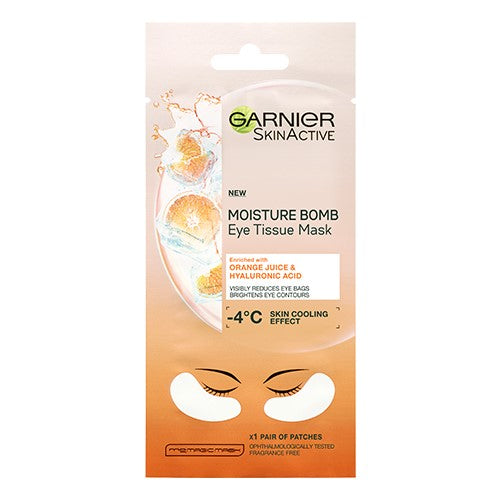 Hydra Bomb Eye Tissue Mask, Orange Juice & Hyaluronic Acid