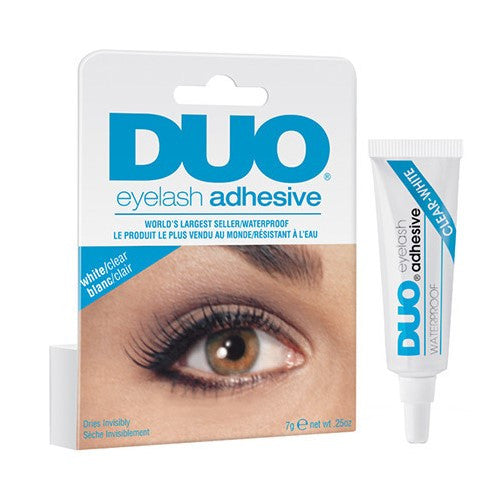 DUO Striplash Adhesive - White/Clear