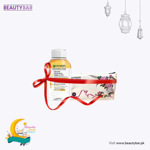 Micellar water Oil infused 100ml with Free Pouch (Farah Talib Aziz)