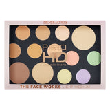 Makeup Revolution Pro HD Palette -  The Works