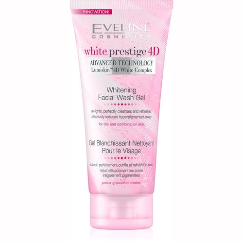 White Prestige 4D Facial Wash Gel  -100ml