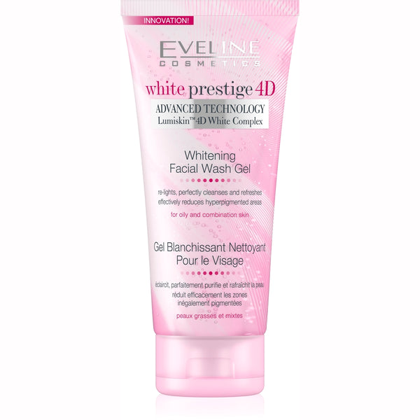 White Prestige 4D Facial Wash Gel  -200ml