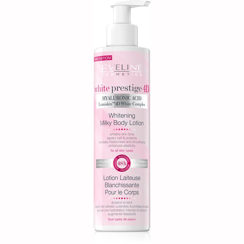 White Prestige 4D Milk Body Lotion -245ml