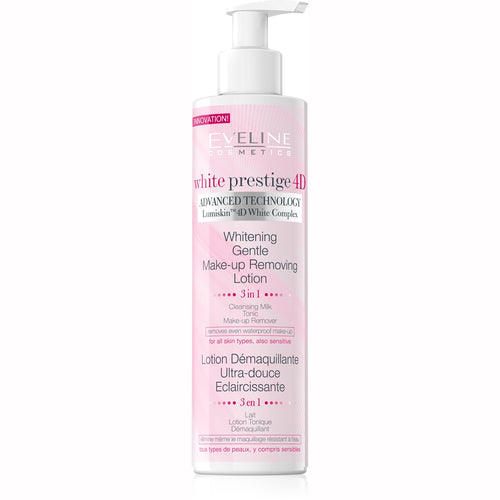 White Prestige 4D Gentle Makeup Removing Lotion -245ml