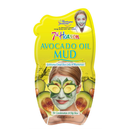 7th Heaven Avocado Oil Mud Face 15ml