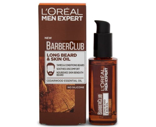 Barber Club Long Beard & Skin Oil - 30ml