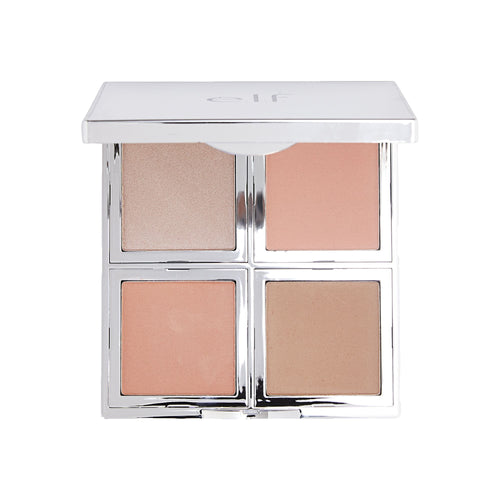 e.l.f. Beautifully Bare Natural Glow Face Palette - Fresh & Flawless