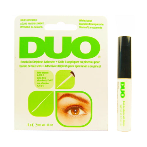 DUO Brush On Striplash Adhesive - White/Clear