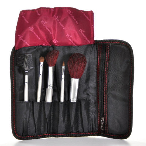 e.l.f. Essential Professional 5 pc Brush Collection