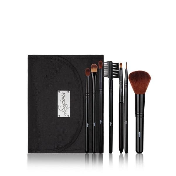 Luscious 7 Pc Essential Brush Set