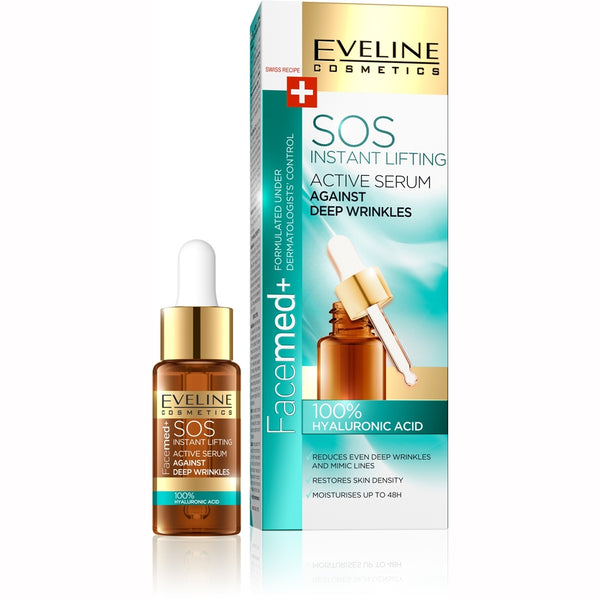 Facemed+ 8 in 100% Hyaluronic Serum 18 ml