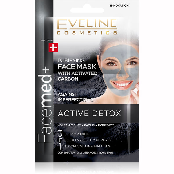 Facemed+ Face Mask Activated Carbon 2*5ml