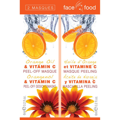 Face Food Orange & Vitamin C Peel Off 2 x 6ml