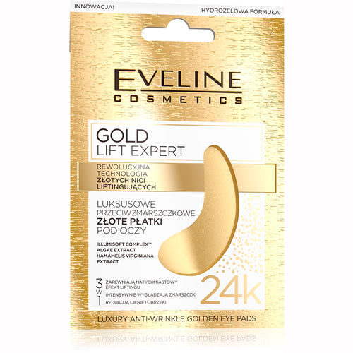 Gold Lift Expert Eye Pads -2 Pcs