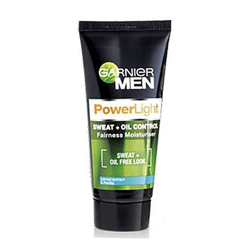Garnier Men Powerlight Sweat + Oil Control Fairness Moisturiser 50g