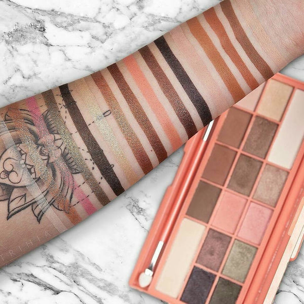 I Heart Makeup Chocolate Palette Chocolate and Peaches