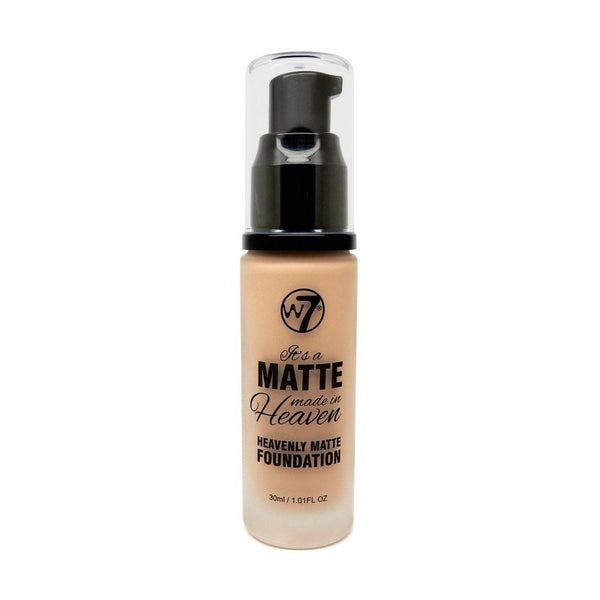 W7 It's A Matte Made In Heaven Heavenly Matte Foundation 30ml