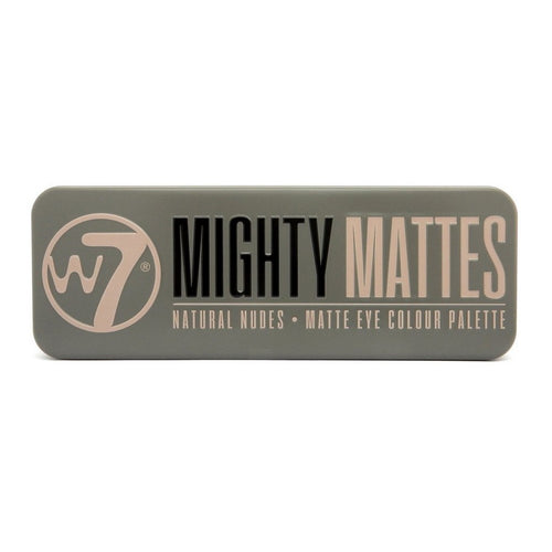 W7 Mighty Mattes Natural Nudes Matte Eye Colour Palette