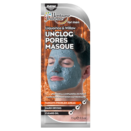 Men's Liquorice & Willow Unclog Pores Masque 15g