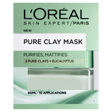 Pure Clay Eucalyptus Mask - Purifying & Mattifying, Green 50ml