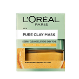 Pure Clay Yuzu Lemon Mask - Brightening, Yellow 50ml