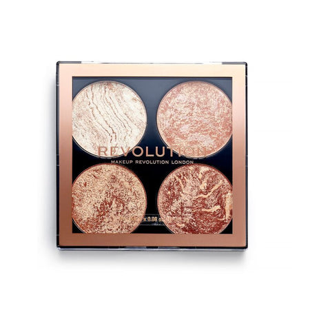 Revolution Vintage Lace Highlighter Palette