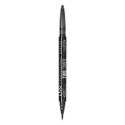 Two-Timer Dual-Ended Eyeliner - 01 Black
