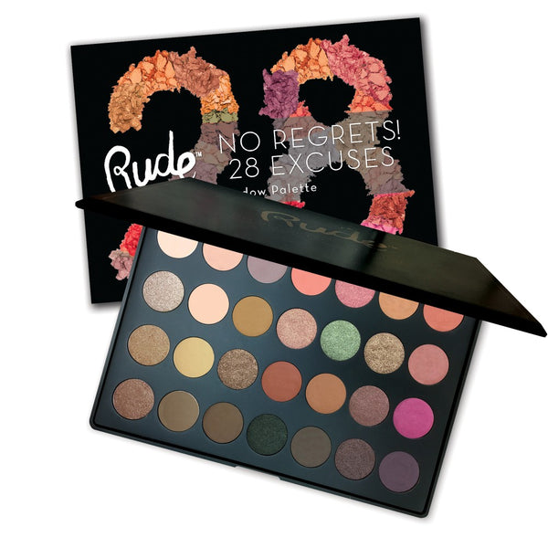 No Regrets! 28 Excuses Eyeshadow Palette - Virgo