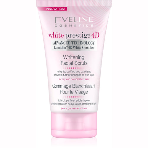 White Prestige 4D Facial Scrub -150ml