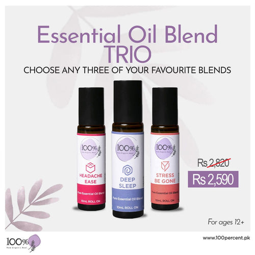 Trio Essential Oil Blend - Bundle of 3
