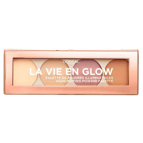 La Vie En Glow Highlighting Powder Palette - 01 Warm Glow