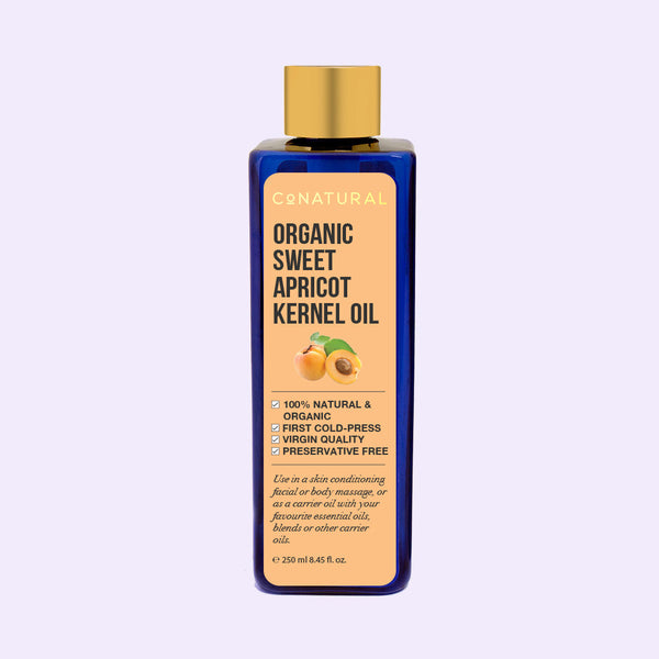 Organic Sweet Apricot Kernel Oil