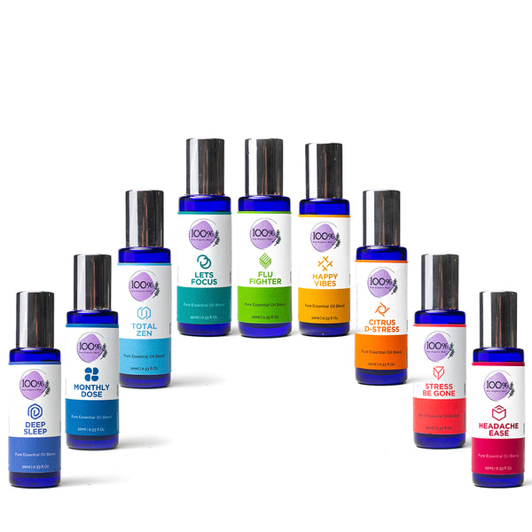 All 9 Aromatherapy Blends