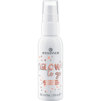 glow to go illuminating setting spray