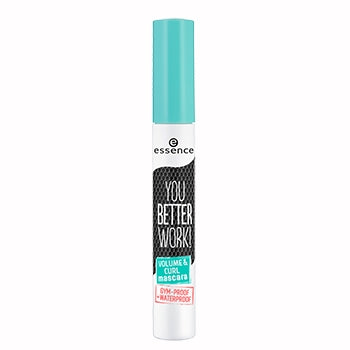 you better work! volume & curl mascara