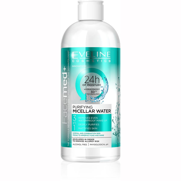 Face Med Purifying Micellar Water - 400ml