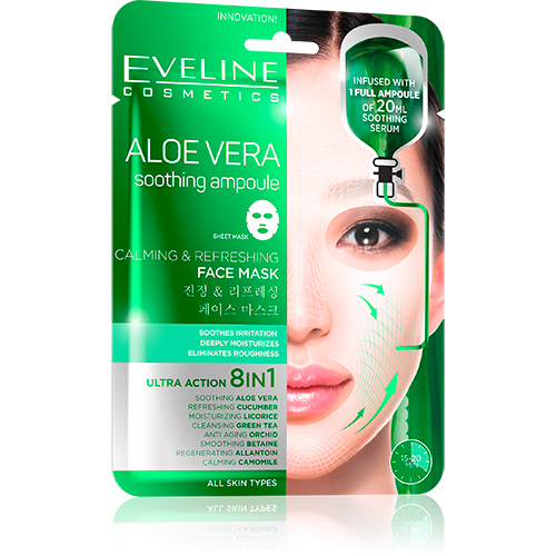 Aloe Vera Calming & Refreshing Face Sheet Mask